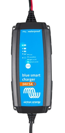 Victron Blue Smart IP65 Charger 24/5 + DC συνδετήρες